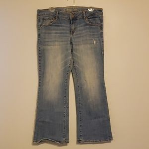 Light colored AE jeans